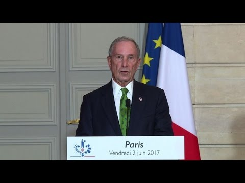 Bloomberg says US cities, firms will honour climate pact