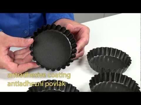 Video Tescoma DELÍCIA forma s vlnitým okrajem a odnímatelným dnem 28 cm 2