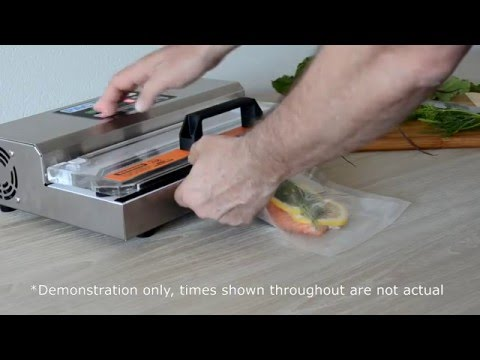 Pac Food VS305 Semi Commercial Vacuum Sealer