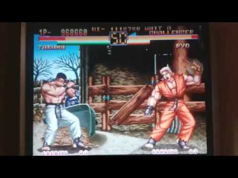 art of fighting 2 neo geo codes