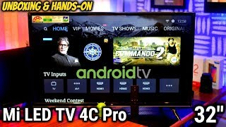 Cheapest Android TV EVER by Xiaomi Mi TV 4C PRO 32