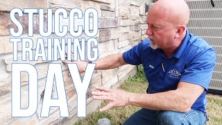 Stucco Training Day