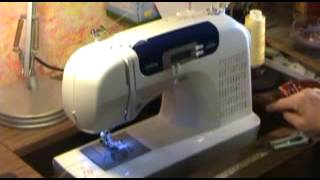 Review of Brother CS 6000i Sewing Machine