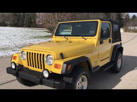 2003 Jeep® Wrangler Sport in Big Bend, Wisconsin - Video 1