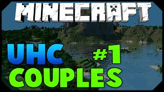 Minecraft: Boyfriend & Girlfriend UHC #1 - PROT 4 DIAMOND! w/AciDic BliTzz