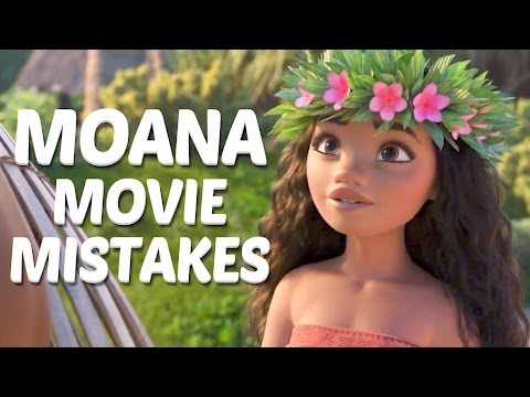 10 Disney Moana MOVIE MISTAKES You Didn't Notice - Moana Movie