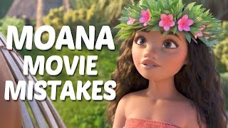 10 Disney Moana Movie Mistakes You Didn't Notice | Moana Goofs