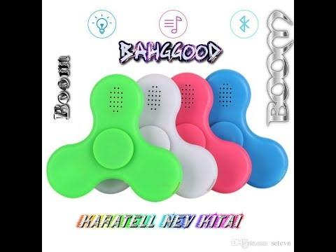 Спинер за 4.99 USD с Banggood с Bluetooth и LED подсветкой