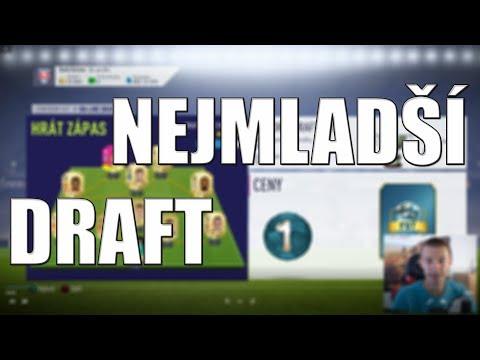 DOTÁHNEME ZTRÁTU 4:0? | NEJMLADŠÍ DRAFT! | FIFA 18 | CZ/SK