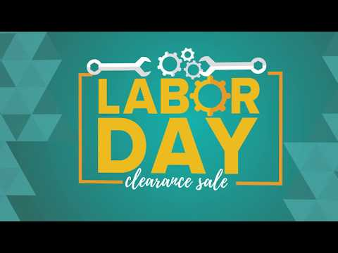 Labor Day Clearance