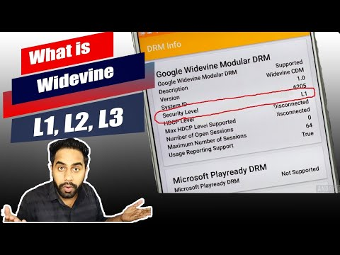 What is Widevine L1, L2, L3 Certification in Mobile Phones - YouTube