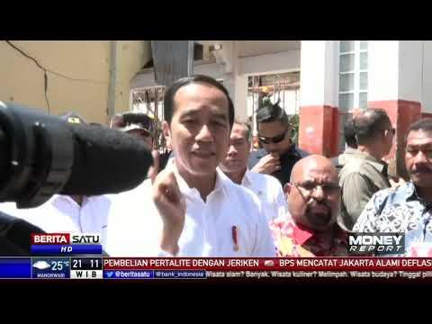 Jokowi Tinjau Lokasi Terdampak Kerusuhan di Wamena