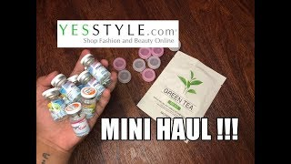 YESSTYLE MINI HAUL | First Time Buyer ✌🏼 Contact Lenses 👀