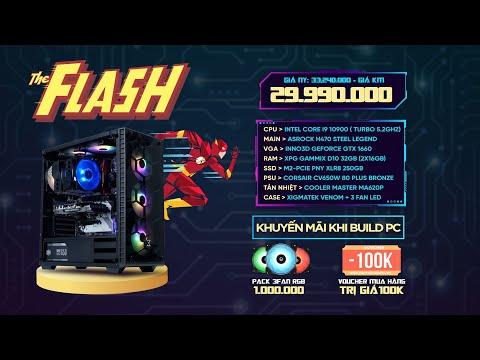 PC 30 TRIỆU DÙNG I9 10900 RENDER NHANH NHƯ THE FLASH