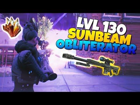 Fortnite Save The World Best Perks For Obliterator Lvl 130 Sunbeam Obliterator Sniper Is It Good Fortnite Save The World Netlab