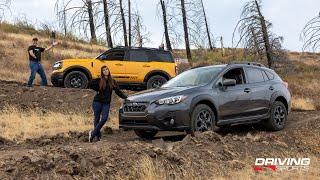 Subaru Crosstrek Sport vs. Ford Bronco Sport: Off-Road AWD Shootout