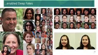 Can We Evade Deep Fake Dystopia? Ilke Demir @ Women in Tech Online Festival