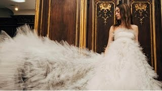 Oscar De Le Renta Bridal 2018 Collection | New York Bridal Fashion Week 2017