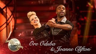 Ore & Joanne Quickstep To 'Are You Gonna Be My Girl?' By Jet - Strictly Come Dancing 2016: Week 12