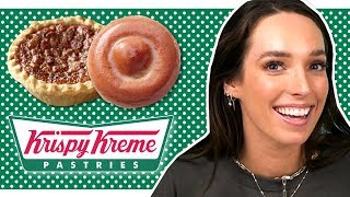 Irish People Try Krispy Kreme Donuts' Pastries
