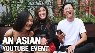 An Asian Youtube Event #AsiansOnYoutube | WahlieTV EP593
