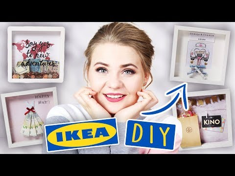 4 DIY's mit IKEA BILDERRAHMEN - GESCHENKE für JEDEN ANLASS! | #MayBePerfect