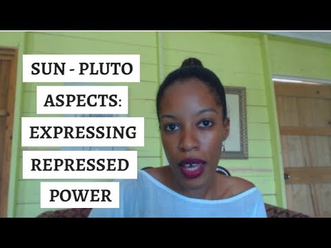 Sun Pluto Aspects - Especially In Women | Personal & Planetary Soul
