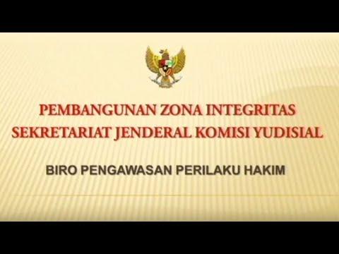 Pembangunan Zona Integritas Sekretariat Jenderal Komisi Yudisial