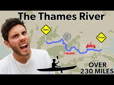 KAYAKING THE ENTIRE RIVER THAMES | PART 1