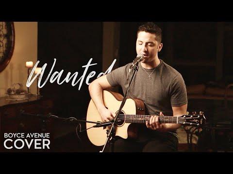 Wanted Boyce Avenue Free Guitar Tabs