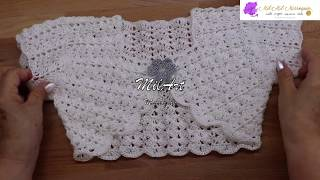 Bolero Crochet Para Niña 4 Años Fácil Paso A Paso