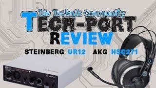 AKG HSC 271 Headset & Steinberg UR12 Audiointerface [Review]