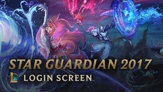 Star Guardian 2017 (w/ Vocals - A New Horizon) | Login Screen - League of Legends