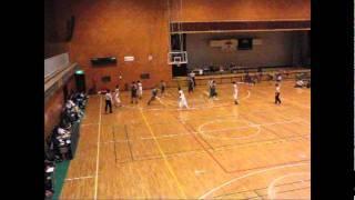 平成23年度青森県バスケクラブ決勝鶴田VS八戸