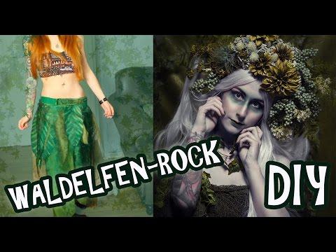 Waldelfen DIY I Elfen-Rock I I Halloween-Kostüm I Kupferfuchs Bastelstube