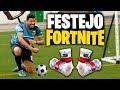FESTEJO FORTNITE en un PARTIDO DE FUTBOL - Beast League FTO 2 vs 2 Jugadas, Trucos y Golazos