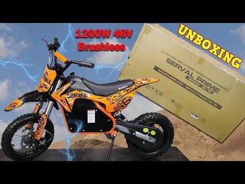 Serval Prime 1200W 48v Electric Cross  Bike - Assembly Instructions