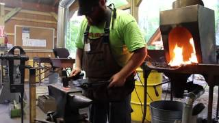 The Modern Blacksmith at the Adirondack Folk School