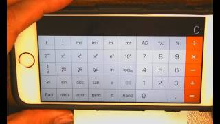 how to use your smart phone calculator