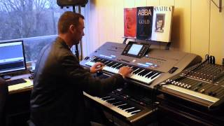 Jermaine Jackson & Pia Zadora When the Rain Begins to Fall Yamaha Tyros 5 Roland G70 By Rico