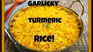 My Familys Secret Garlic Turmeric Middle Eastern Rice Recipe! الأرز مع الثوم والكركم