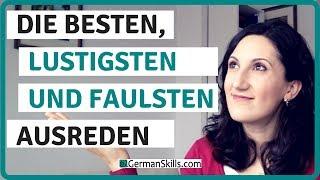 Die besten Ausreden beim Deutschlernen