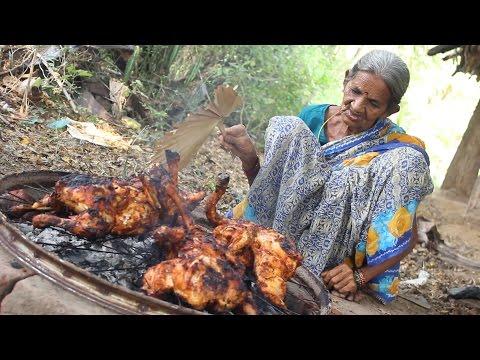 Roasted Chicken in Village Style    My Grandma's Chicken Recipe