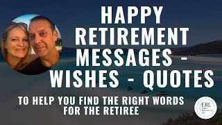Happy Retirement Messages | wishes | quotes