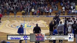IHSAA Class 1A Boys Basketball Regional Championship @ Triton - Argos vs Blackhawk Christian
