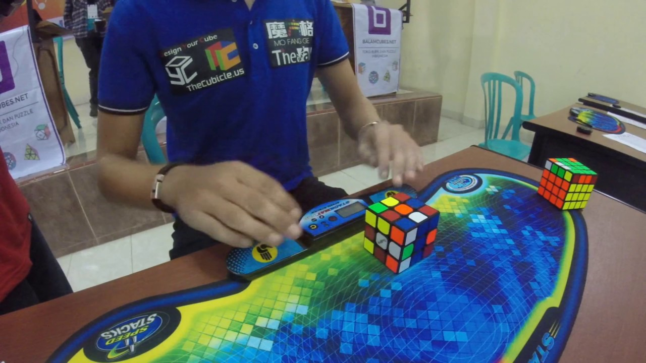 Watch The Rubik's Cube World Record Get Shattered