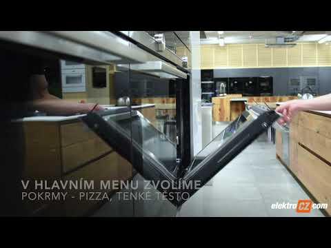 Pečení na automatický program v troubě Siemens