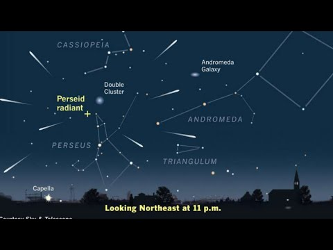 Live Coverage of  the Perseids Meteor Shower Peak Night/Morning