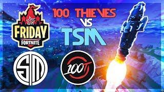 TSM_Myth, TSM_Hamlinz Vs 100T_parallax, Nickmercs 🥊Fortnite Friday🥊(Fortnite)