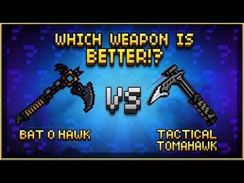 Pixel Gun 3D - Bat o Hawk VS Tactical Tomahawk